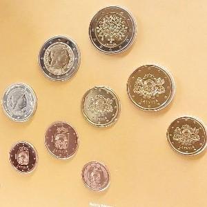 Euro coin sets