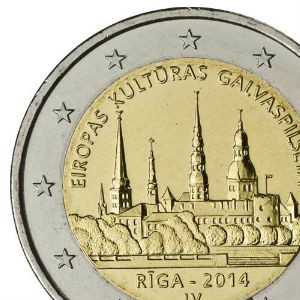 Памятные монеты 2 евро
