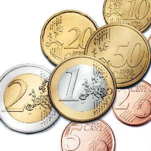 Оборотные монеты евро